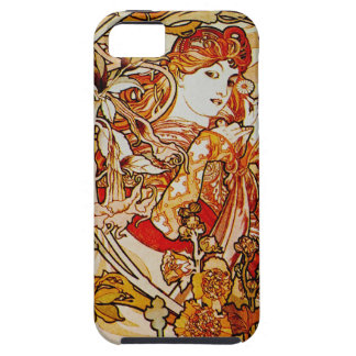 Alphonse Mucha iPhone 5 case