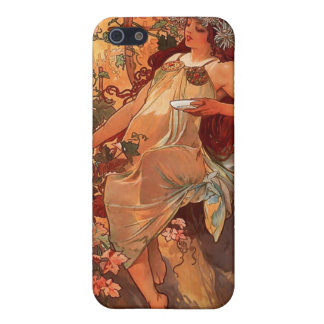 Alphonse Mucha iPhone 5 Cases
