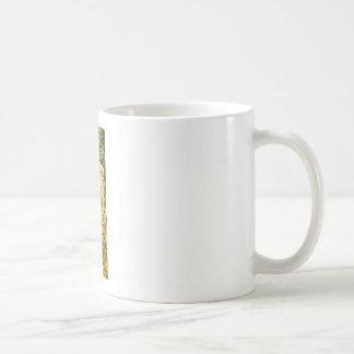 Alphonse Mucha - Iris WB Coffee Mug