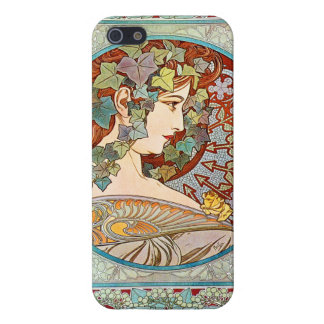 Alphonse Mucha Ivy Case For iPhone 5/5S