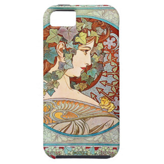 Alphonse Mucha Ivy Case For The iPhone 5