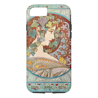 Alphonse Mucha Ivy Case-Mate iPhone Case