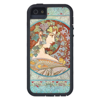 Alphonse Mucha Ivy iPhone 5 Cover