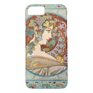 Alphonse Mucha Ivy iPhone 8/7 Case