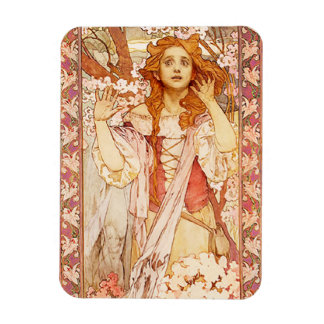 Alphonse Mucha Joan of Arc Magnet