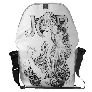 Alphonse Mucha JOB ISOGS Courier Bags