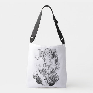 Alphonse Mucha JOB ISOGS Crossbody Bag