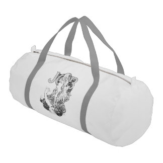 Alphonse Mucha JOB ISOGS Gym Bag