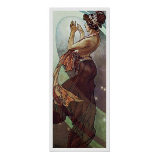 Alphonse Mucha. L 'Etoile Polaire/Pole Star, 1902 Poster