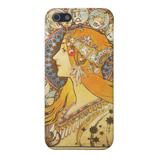 Alphonse Mucha. La Plume. 1896. Case For iPhone 5/5S