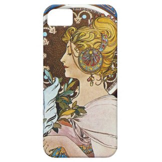 Alphonse Mucha La Plume Quill Pen iPhone 5 Case