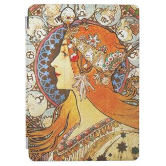 Alphonse Mucha La Plume Zodiac Art Nouveau iPad Air Cover