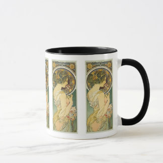 Alphonse Mucha ~ La Primevere Mug