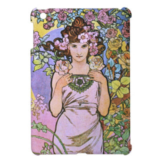 Alphonse Mucha. La Rose/Rose, 1897 iPad Mini Cover