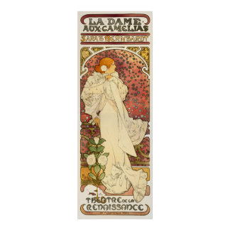 Alphonse Mucha Lady of the Camelias Poster