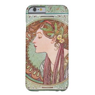 Alphonse Mucha Laurel Art Nouveau iPhone 6 case Barely There iPhone 6 Case