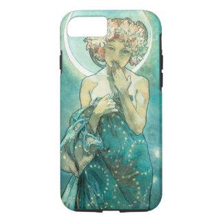 Alphonse Mucha Moonlight Clair De Lune Art Nouveau iPhone 8/7 Case
