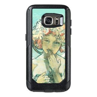 Alphonse Mucha Moonlight Clair De Lune Art Nouveau OtterBox Samsung Galaxy S7 Case