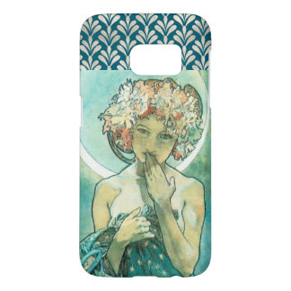 Alphonse Mucha Moonlight Clair De Lune Art Nouveau Samsung Galaxy S7 Case
