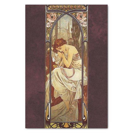 Alphonse Mucha, Night's Rest Tissue Paper