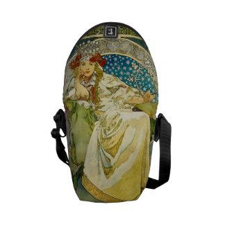 Alphonse Mucha Princess Hyacinth Art Nouveau Commuter Bags