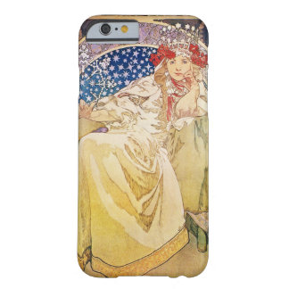 Alphonse Mucha Princess Hyacinth iPhone 6 case Barely There iPhone 6 Case