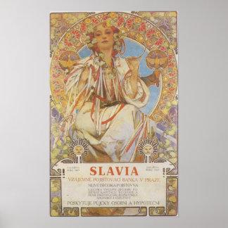 Alphonse Mucha - Slavia Print