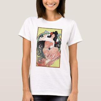 Alphonse Mucha Victorian Art Nouveau T-Shirt