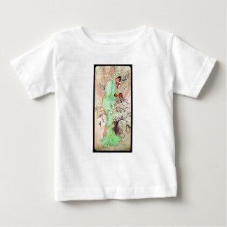 Alphonse Mucha Winter II Baby T-Shirt