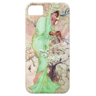 Alphonse Mucha Winter II Case For The iPhone 5