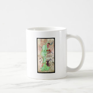 Alphonse Mucha Winter II Coffee Mug