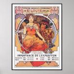 Alphonse Mucha -  World's Fair 1904  St. Louis Poster