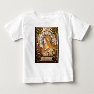 Alphonse Mucha Zodiac Baby T-Shirt