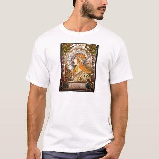 Alphonse Mucha Zodiac T-Shirt