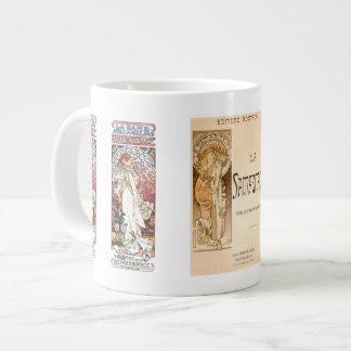 Alphonse Muchas Bernhardt Jumbo Mug