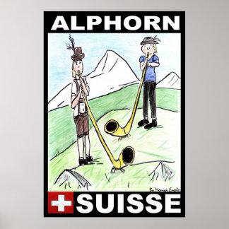 ALPHORN POSTER