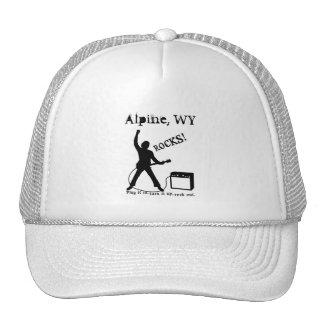 Alpin, WY Casquette De Camionneur