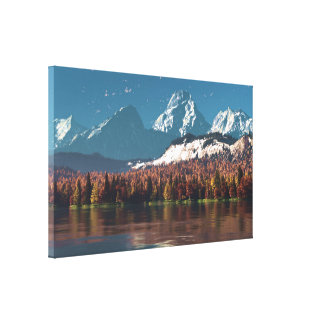 Alpine Autumn Canvas Print