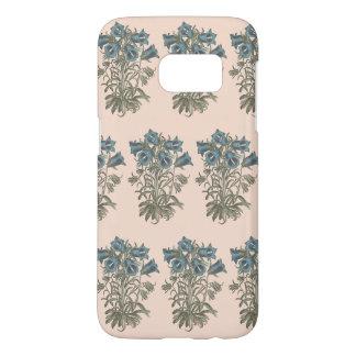 Alpine Bell Flower Botanical Illustration Samsung Galaxy S7 Case