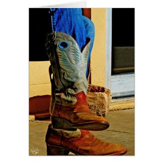 Alpine Boots Card