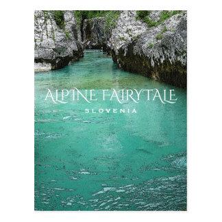 Alpine Fairytale Postcard