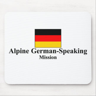 Alpine German-Speaking LDS Mission Mousepad