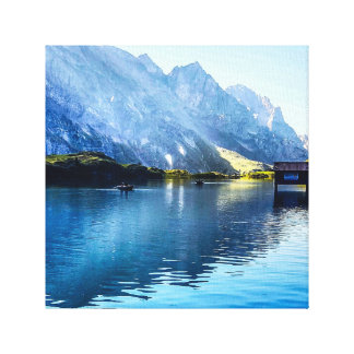 Alpine Lake Canvas Print