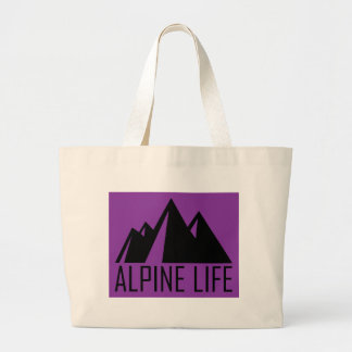 Alpine Life Large Tote Bag