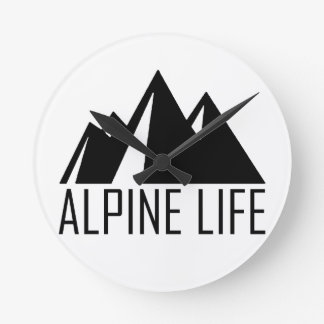 Alpine Life Wallclocks