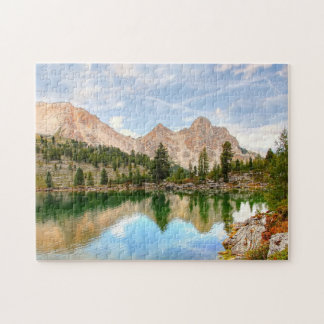 Alpine Mountain Range Jigsaw Puzzle