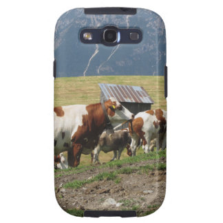 Alpine pasture with cows galaxy s3 covers