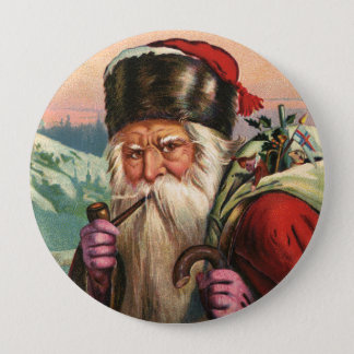 Alpine Santa Button