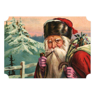 Alpine Santa Card