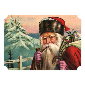 Alpine Santa Invitation